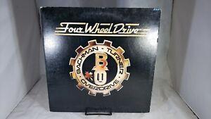 Bachman Turner Overdrive Four Wheel Drive LP 1975 Vinyl SRM-1-1027 VG+ cVG+/NM