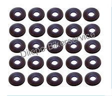 25 Stück ähnl. DIN125 Kunststoffscheibe Farbe schwarz 5,2 mm M5 - Ø 12 x 5,2 x 1