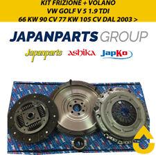 KIT FRIZIONE + VOLANO VW GOLF V 5 1.9 TDI 66 KW 90 CV 77 KW 105 CV DAL 2003 >
