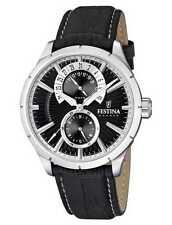 Festina clásico Retro Reloj De Hombre F16573/3