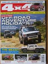4 x 4 4x4 Magazine October 2016 Jeep Cherokee buying Renegade Bureko 6 x 6