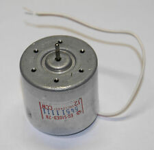 Audiomotor f Vintage Tapedeck - Revision Quality - Original Mabuchi EG-510ED-2B