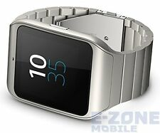 Sony SmartWatch 3 Metal silver SWR50 Unlocked Smart Watch