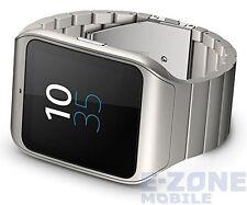 Sony SmartWatch 3 Metal silver SWR50 Unlocked Smart Watch