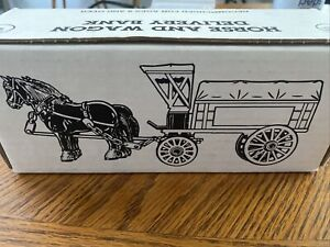 """Ertl #B519 """"Ace Dealer Meeting 1990 Horse & Wagon Delivery 1/24 Scale MIB NOS"""