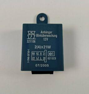 AHK Steuergerät Relais Blinküberwachung Anhänger Modul 321106 2(4)x21W