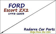 "1998-2003 Ford Escort ZX2 - 32"" Black Stainless AM FM Antenna Mast"