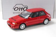 1:18 OTTO Mazda 323 GT-R 1992 red NEW bei PREMIUM-MODELCARS
