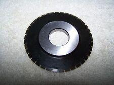 "Double Bevel Slitter Wheel .8660"" ID x 3"" OD"