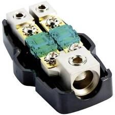 Digiten per audio stereo per auto porta fusibile per fusibili ANL Inline 0 2 4 gauge con fusibile placcato in oro 300A Amp