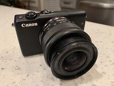Canon EOS M100 24.2 MP Digital SLR Camera - Black With 15-45 Lens