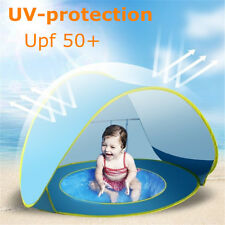 Anti-UV Pop Up Tent Baby Pool Beach Camping Awning Protection Shelter Waterproof
