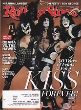 Rolling Stone April 10 2014 KISS, Obama w/ML EX 121815DBE2