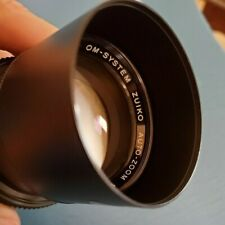 Olympus Zuiko 75-150mm f/4 Mf Lens for Camera With Case! Free Shipping