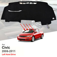 Xukey For Honda Civic 2006-2011 Acura CSX Dashmat Dash Mat Dashboard Cover Pad