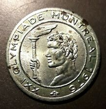 Montreal Olympiad XXI 1976 Italy Gettone Token Apparecchi Elettrici Olympics