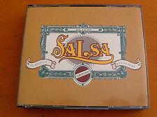 SALSA LA MUSICA QUE SE FUMA - VARIOUS ARTISTS CD 1994 3 Discs IN GREAT CONDITION
