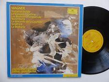 WAGNER Tristan et Isolde Vaisseau fantome .. Orchestre de Paris DANIEL BARENBOIM