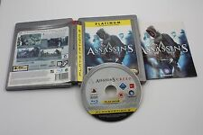 PLAY STATION 3 PS3 ASSASSIN'S CREED PLATINUM  COMPLETO PAL ESPAÑA