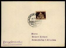 """3. REICH BRIEF 1936 SStpl. """"MÜNCHEN - DAS BRAUNE BAND"""" h2049"""