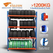 1.5Wx0.6Dx2.7mH,Tyres Storage Racks Stands Shelf Shelves Shelving Racking, S