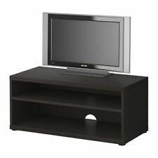 ADJUSTABLE IKEA MOSJÖ TV bench, black-brown 90x40x38 cm