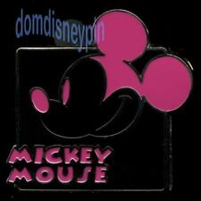 Disney Pin Mickey *Expressions* Mystery Series - Smiling (Dark Pink)!