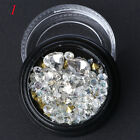 Mixed 3D Nail Rhinestones Colorful Micor Beads DIY Manicure Art Decoration