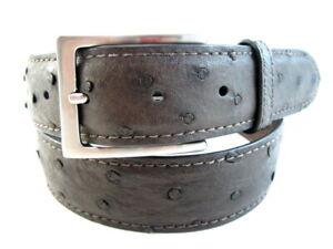 "Allen Edmonds ""OSTRICH AVE"" Men's Dress Belt  #1016360 Size 30  Espresso   (503)"