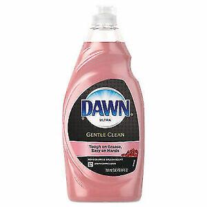 Dawn Ultra Gentle Clean Dishwashing Liquid Soap, Pomegranate & Rose - 24 Oz.