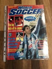 World Soccer Magazine May 1993 Chris Waddle Front Cover !