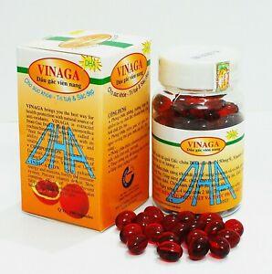 4 bottle of Vinaga DHA Pure GAC Oil - Momordica GAC Fruit Vitamin A, E, DHA