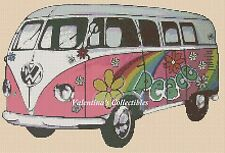 VW Camper Van Counted Cross Stitch Chart No. 7-357/2