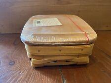 Longaberger Note Pal Combo (Basket + WoodCrafts Lid + Protector)