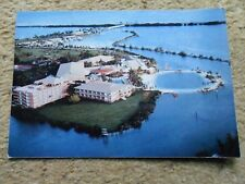 .POSTCARD.HAWK'S CAY RESORT AND MARINA.POSTED 22.3. 1992.STAMP 40c