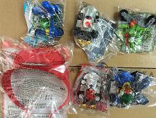 2016 Super Mario Mario Kart 8 McDonald's Happy Meal Toys Complete Set 6 PCS