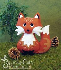 Red Fox Sewing Pattern - Woodland Stuffed Animal Felt Plushie Pattern & Tutorial