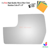 NEW fit 2011-2012 Ford F-150 Driver Side Left Lower Flat Door Mirror Glass #4438