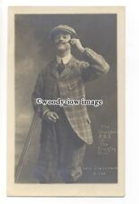 """b4161 - Actor - """"Lord Grassmere"""" Stockport A.O.S. """"The Country Girl""""  - postcard"""