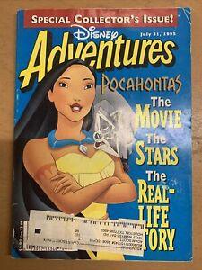 Disney Adventure Magazine - Pocahontas - July 31, 1995