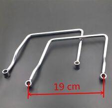 19cm Saddle bag Support Bar Mount Brackets For Honda Rebel 250 Magna 750 Shadow