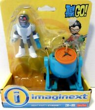 Fisher Price Imaginext Teen Titans Go! Meat Party Cyborg Figure open Pkg.