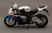 Bmw S1000 RR White Moto 1:12 Model 10042W MAISTO