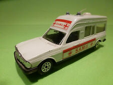 NOREV 874 MERCEDES BENZ - AMBULANCE S.A.M.U. 1:43 - RARE SELTEN - GOOD CONDITION
