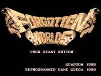 Forgotten Worlds - Sega Genesis Game Only
