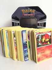 Pokemon Cards Bundle Including Collectors Tin And 200+ Playing Cards Collection