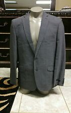 (44R) Ted Baker Men's Gray Wool Blend Blazer Sport Coat Jacket
