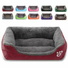 Large Pet Dog Cat Bed Puppy Cushion House Soft Warm Kennel Mat Blanket