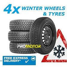 FORD C-MAX 2007-2016 4 WINTER STEEL WHEELS AND 205/55 R16 TYRES ref:801