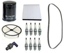 Lexus LS400 90-00 V8 4.0L Tune Up Kit Spark Plugs and Filters PCV Valve Belt